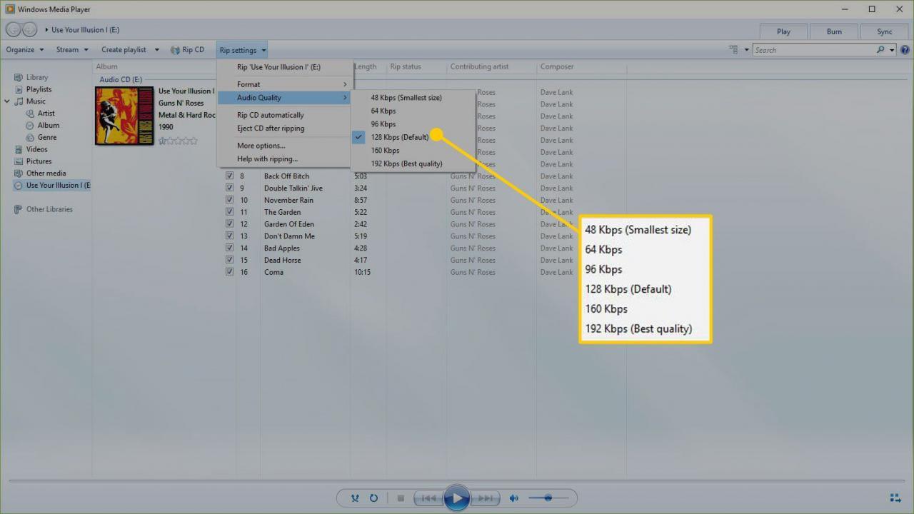 Windows Media Player Cd Informationen Abrufen
