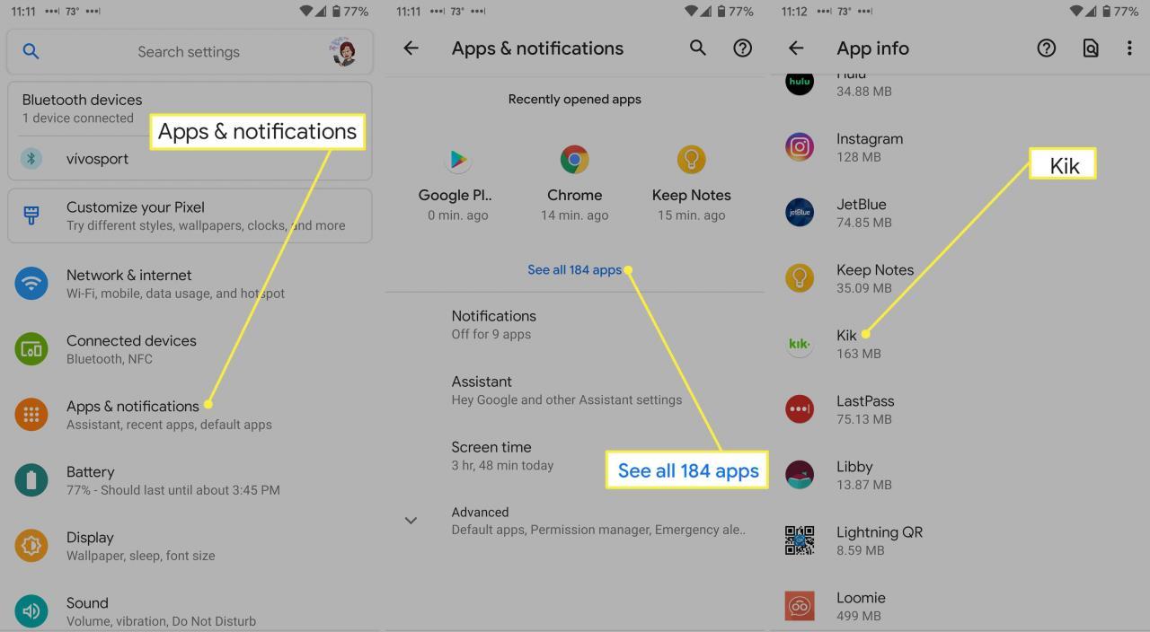 Hur man tar bort Kik från Android - Blogg